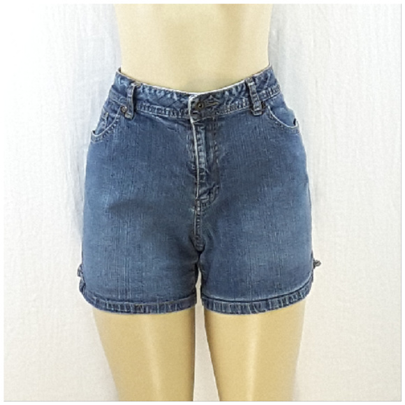 Saint John's Bay Pants - ST JOHN'S BAY, Denim Shorts, size 12